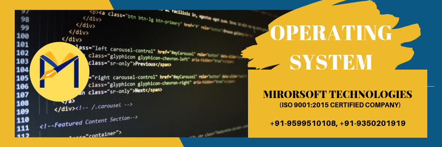 OPERATING SYSTEM COACHING IN GREATER NOIDA