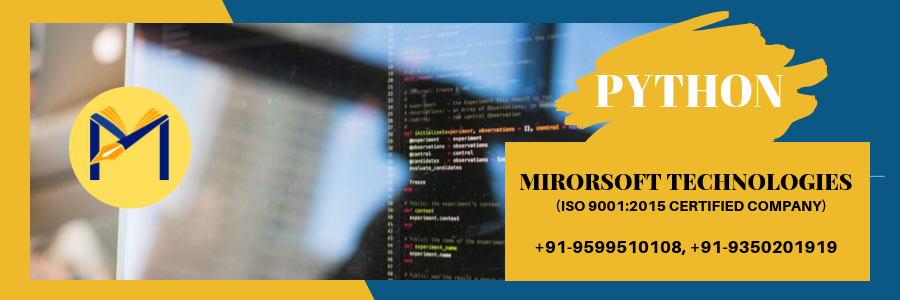 python training in Greater Noida