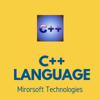 CPP LANGUAGE